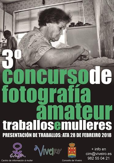 III CONCURSO DE FOTOGRAFÍA AMATER TRABALLOS E MULLERES