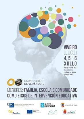 MENORES: FAMILIA, ESCOLA E COMUNIDADE COMO EIXOS DE  INTERVENCIÓN EDUCATIVA