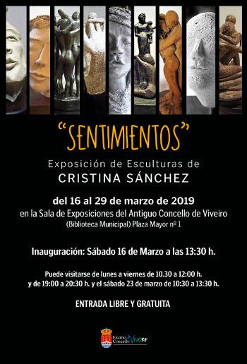 """SENTIMIENTOS"". EXPOSICIÓN DE ESCULTURAS DE CRISTINA SÁNCHEZ"