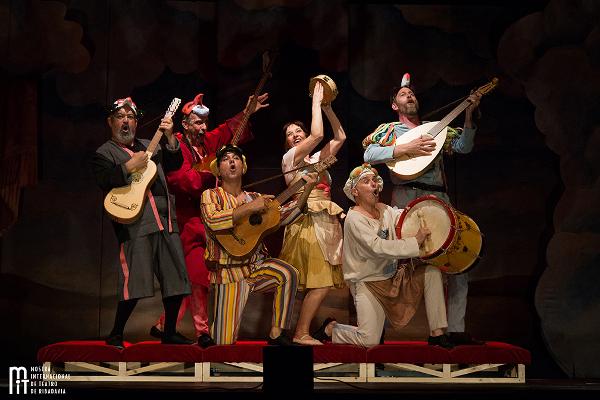 Teatro Pastor Díaz. 20:30 horas: Commedia