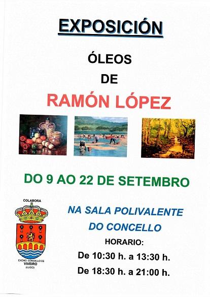Exposición Oleos Ramón López