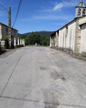 OBRAS DE MELLORA DOS CAMIÑOS RURAIS DE PORTOCIÑO E IGREXA, EN LANDROVE