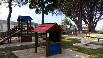 Apertura parques infantiles