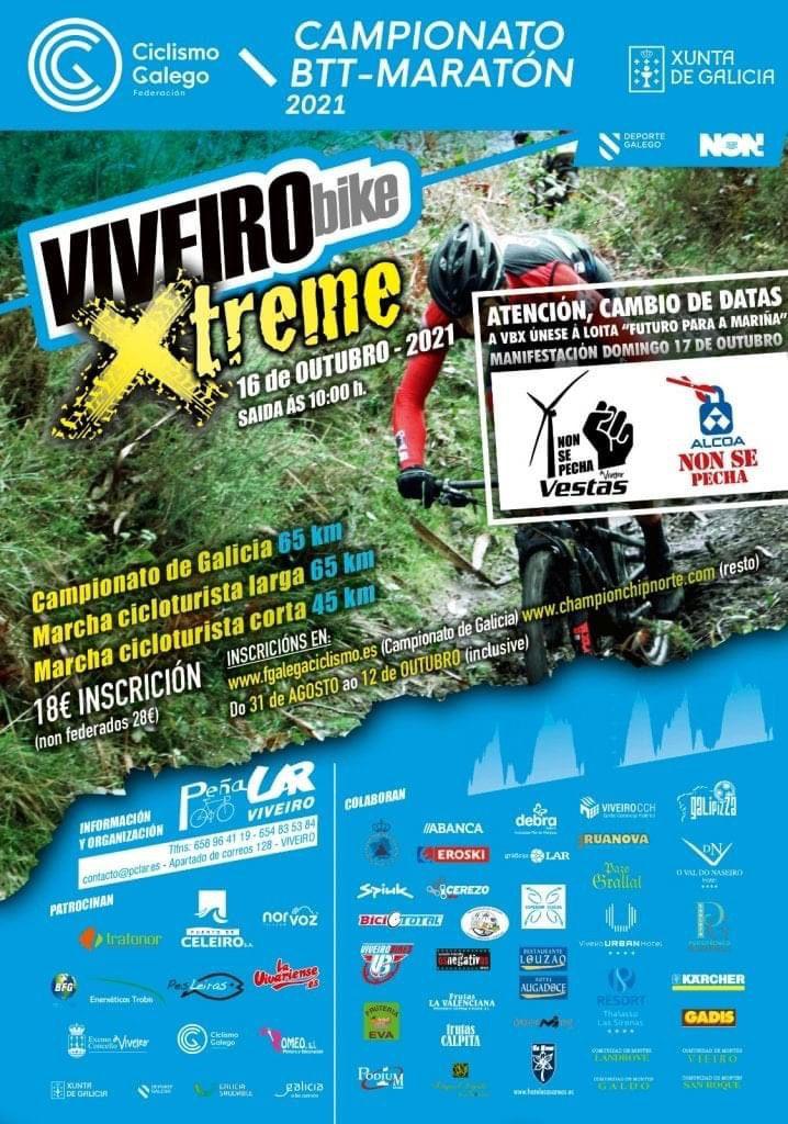 VIVEIROBIKE XTREME - CAMPIONATO GALEGO DE BTT-MARATÓN